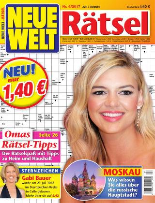 Neue Welt Rätsel  Nr. 04 2017