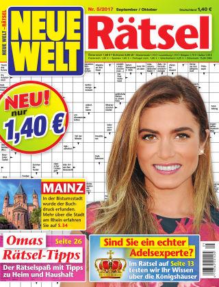 Neue Welt Rätsel  Nr. 05 2017