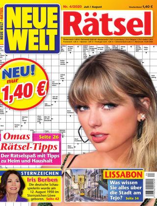 Neue Welt Rätsel  Nr. 04 2020