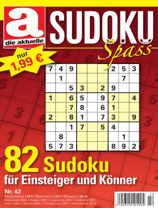 Die aktuelle Sudoku Spass Nr. 42 2018
