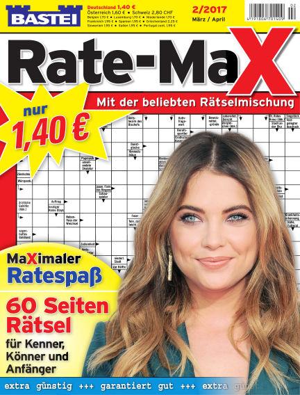Bastei Rate-Max February 08, 2017 00:00