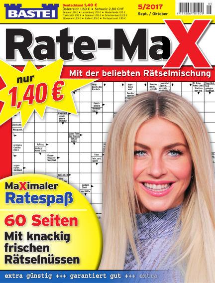 Bastei Rate-Max August 16, 2017 00:00