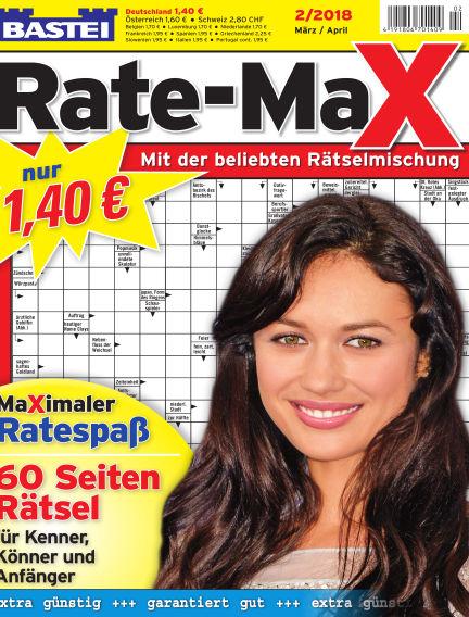 Bastei Rate-Max February 14, 2018 00:00
