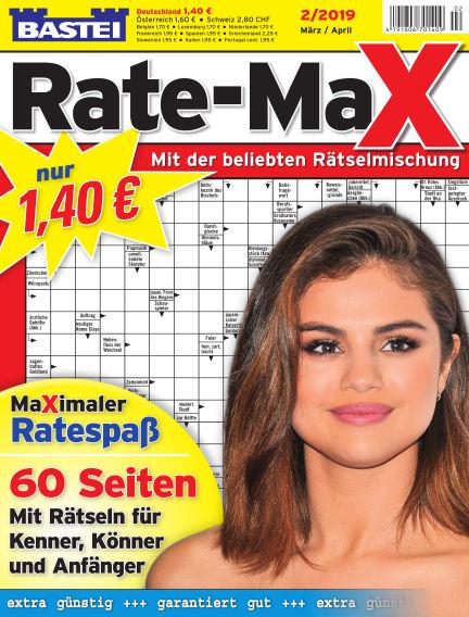 Bastei Rate-Max February 13, 2019 00:00