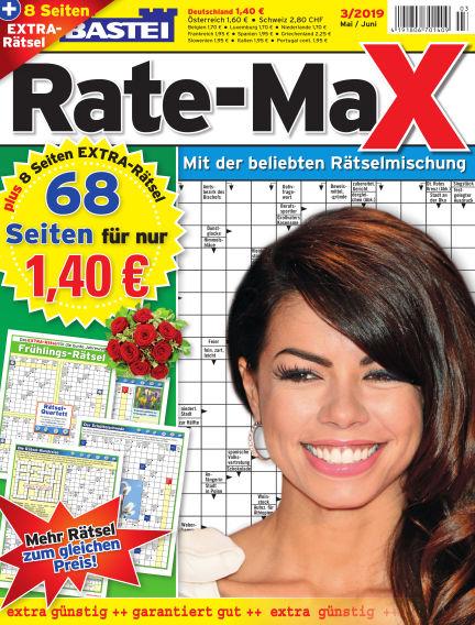 Bastei Rate-Max April 17, 2019 00:00