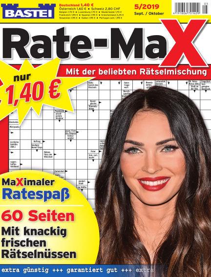 Bastei Rate-Max August 14, 2019 00:00