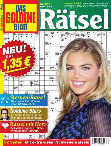 Das Goldene Blatt-Rätsel February 06, 2017 00:00