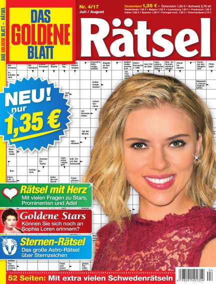 Das Goldene Blatt-Rätsel June 12, 2017 00:00