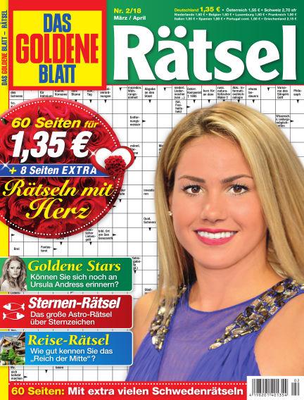 Das Goldene Blatt-Rätsel February 05, 2018 00:00