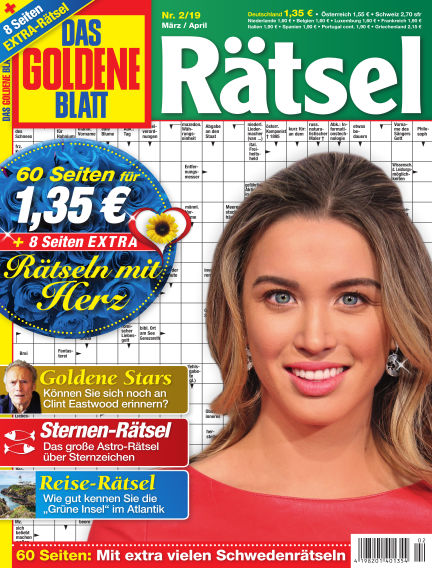 Das Goldene Blatt-Rätsel February 04, 2019 00:00