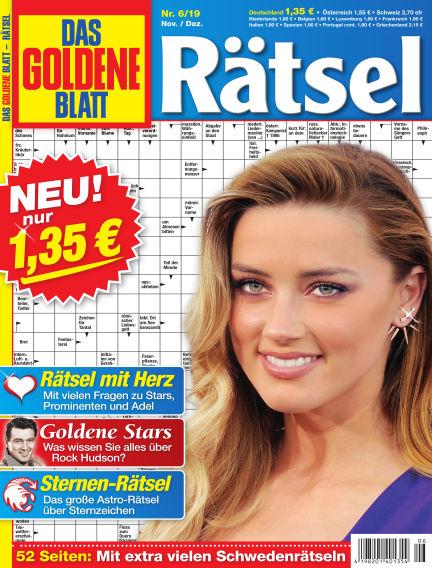 Das Goldene Blatt-Rätsel October 07, 2019 00:00