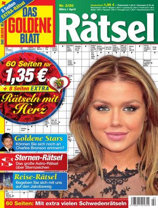 Das Goldene Blatt-Rätsel Nr. 02 2020