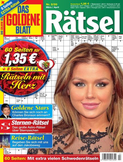 Das Goldene Blatt-Rätsel February 03, 2020 00:00