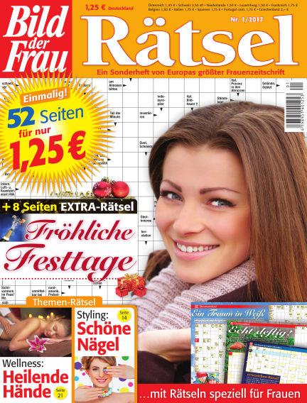 BILD der Frau Rätsel December 14, 2016 00:00