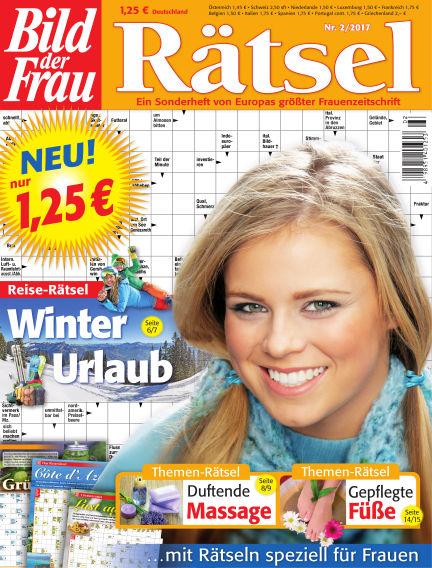 BILD der Frau Rätsel January 11, 2017 00:00