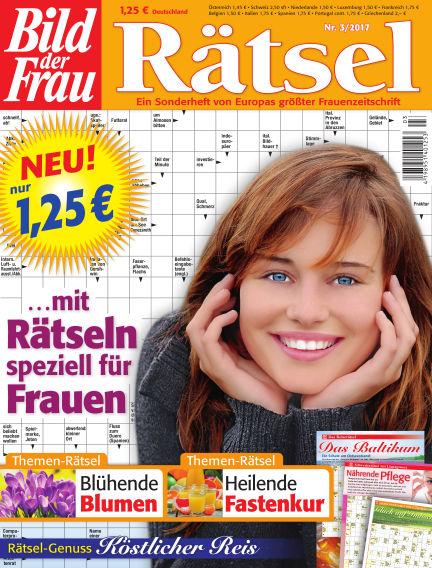 BILD der Frau Rätsel February 15, 2017 00:00
