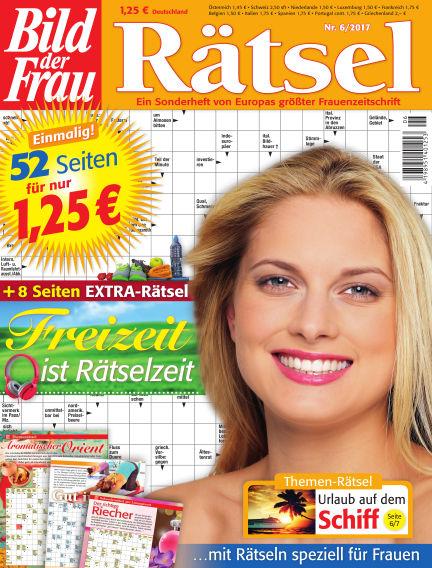 BILD der Frau Rätsel May 10, 2017 00:00