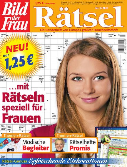 BILD der Frau Rätsel June 14, 2017 00:00