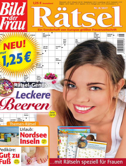 BILD der Frau Rätsel July 12, 2017 00:00