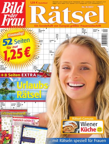 BILD der Frau Rätsel August 09, 2017 00:00