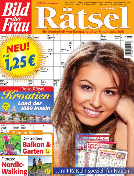 BILD der Frau Rätsel July 11, 2018 00:00