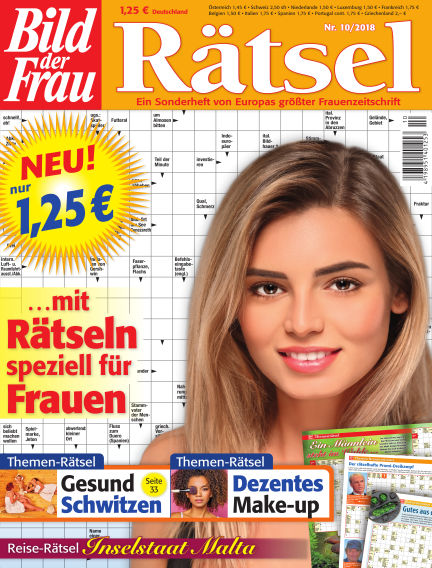 BILD der Frau Rätsel September 12, 2018 00:00