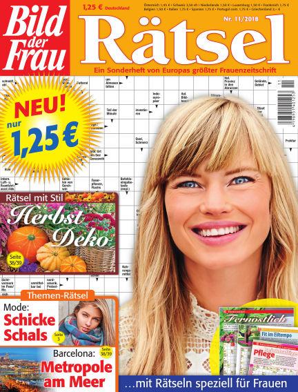 BILD der Frau Rätsel October 17, 2018 00:00