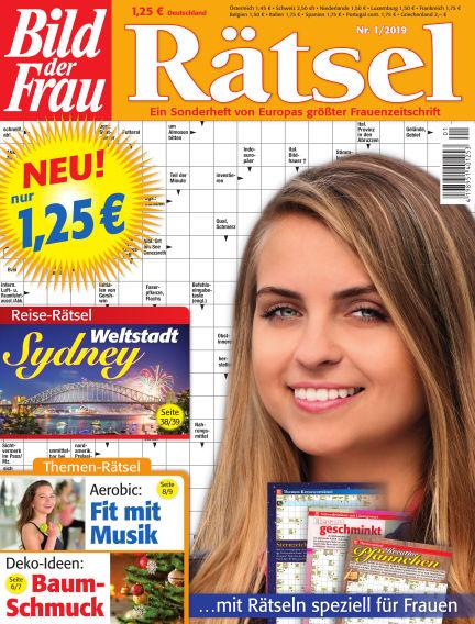 BILD der Frau Rätsel December 12, 2018 00:00