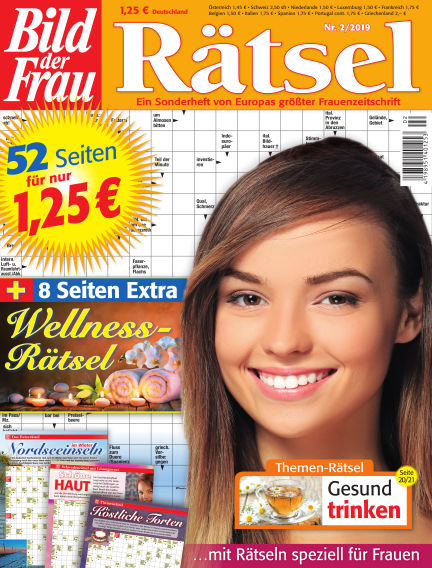 BILD der Frau Rätsel January 09, 2019 00:00