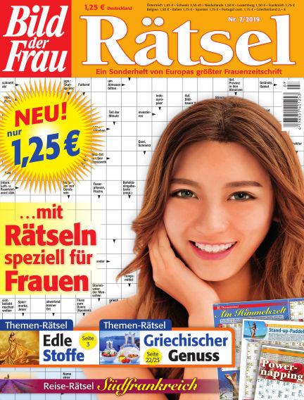 BILD der Frau Rätsel June 12, 2019 00:00