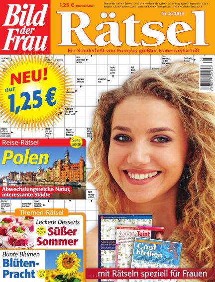 BILD der Frau Rätsel July 10, 2019 00:00