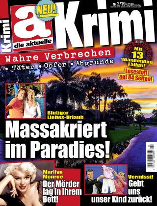 Die aktuelle KRIMI NR02-19
