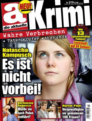 Die aktuelle KRIMI NR03-19