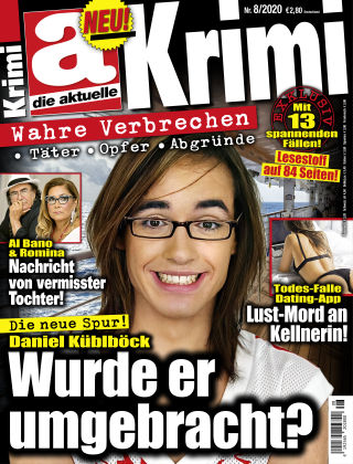 Die aktuelle KRIMI NR08-20