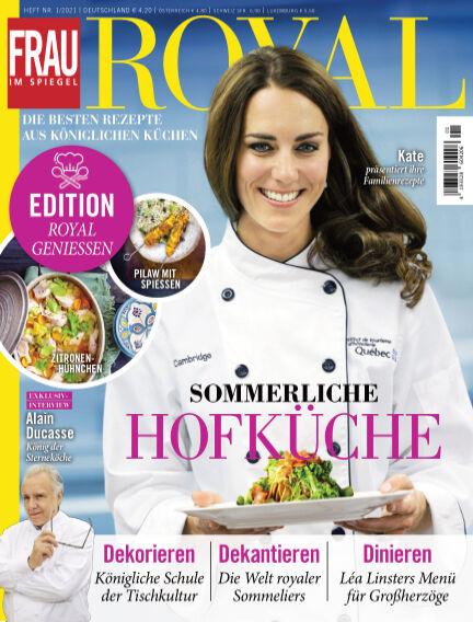 Frau im Spiegel Royal - Sonderhefte August 04, 2021 00:00