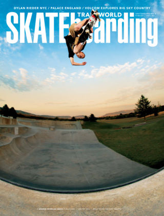 Transworld Skateboarding January 2014