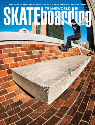 Transworld Skateboarding February 2014