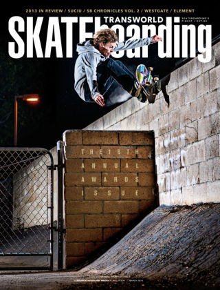 Transworld Skateboarding March 2014