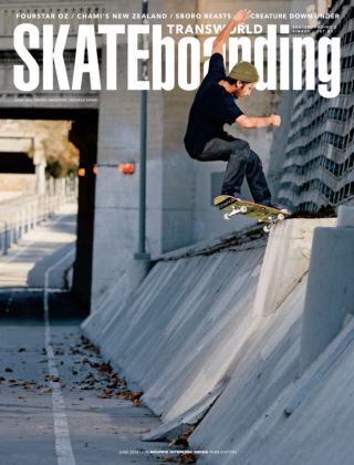 Transworld Skateboarding June 2014