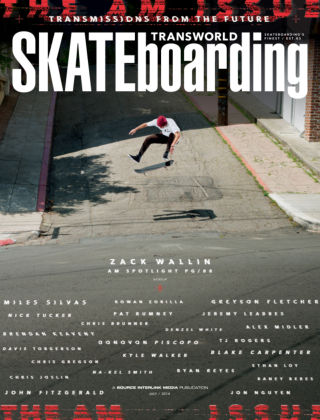 Transworld Skateboarding July 2014
