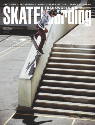 Transworld Skateboarding October 2014