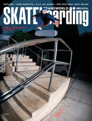 Transworld Skateboarding November 2014
