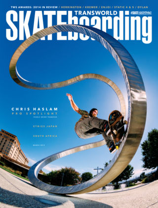 Transworld Skateboarding March 2015