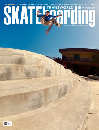 Transworld Skateboarding August 2015