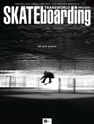 Transworld Skateboarding September 2015