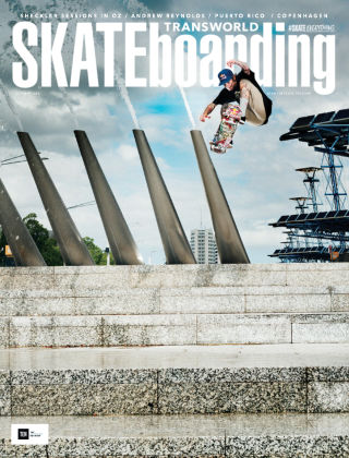 Transworld Skateboarding October 2015