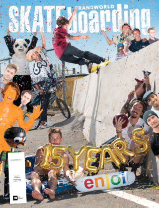 Transworld Skateboarding Dec 2015