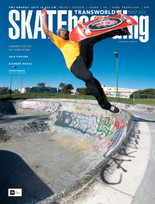 Transworld Skateboarding Mar 2016