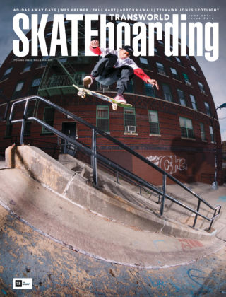 Transworld Skateboarding Jun 2016