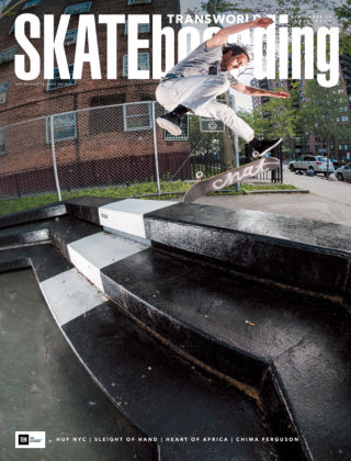 Transworld Skateboarding Sep 2016